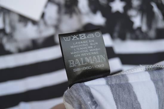 Balmain Flag Print T-shirt Size US L / EU 52-54 / 3 - 8