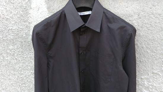 Givenchy Givenchy Black Chest Pocket Plain Rottweiler Shark Men's Shirt size 39 (M) Size US M / EU 48-50 / 2 - 2