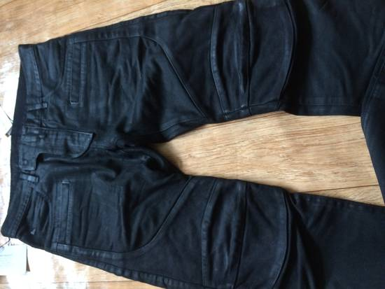 Balmain Balmain Biker Jeans with Leather Panelling Size US 30 / EU 46 - 3