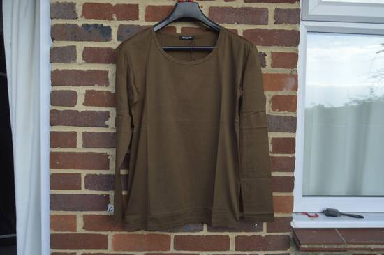 Balmain Brown Distressed Long Sleeve T-shirt Size US M / EU 48-50 / 2