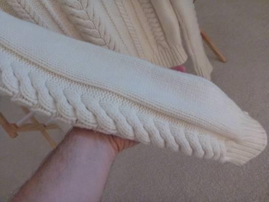 Balmain Cable Knit Sweater Merino Size US L / EU 52-54 / 3 - 3