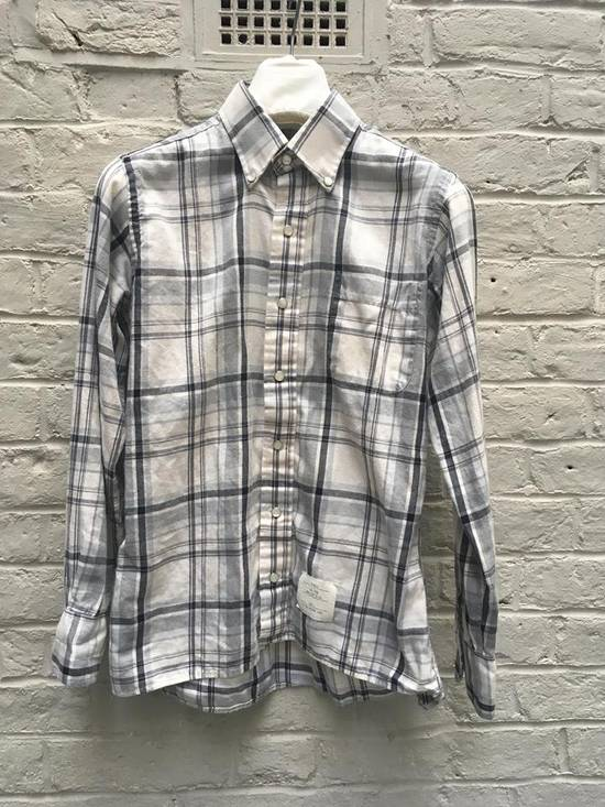 Thom Browne Aw2008 Pearl Snap Enclosure Flannel Size US M / EU 48-50 / 2