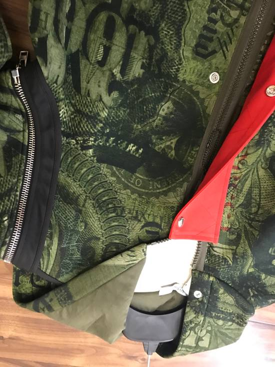Givenchy Padded Removable Sleeve C Note Printed Jacket Size US M / EU 48-50 / 2 - 4