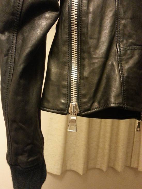 Balmain Safety Pin Leather Biker Jacke Size US M / EU 48-50 / 2 - 11