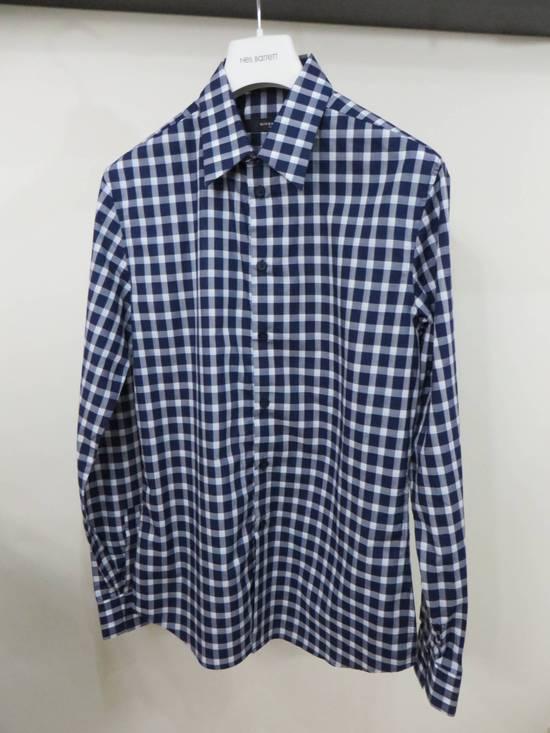 Givenchy Blue check- shirt Size US M / EU 48-50 / 2 - 1