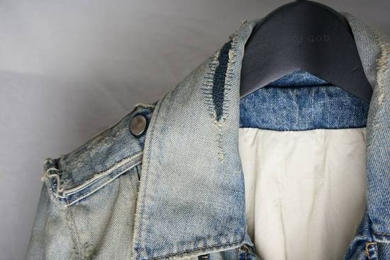 Balmain Denim Moto Jacket Size US S / EU 44-46 / 1 - 2