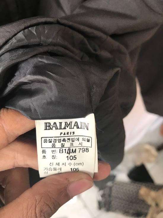 Balmain Vintage down jacket Balmain Big logo printing authentic Size US M / EU 48-50 / 2 - 2