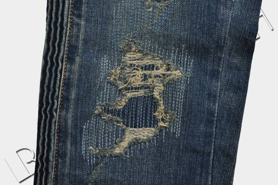 Balmain Distressed Slim Fit Skinny Blue Jeans Size US 31 - 6