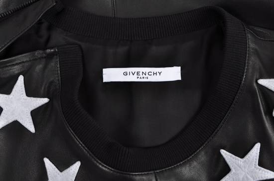 Givenchy 2500$ Black Leather Star Embroidered T-shirt Size US L / EU 52-54 / 3 - 7