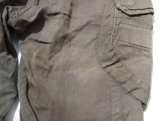 Julius Green Linen Blend Gas Mask Cargo Pants Size US 30 / EU 46 - 9