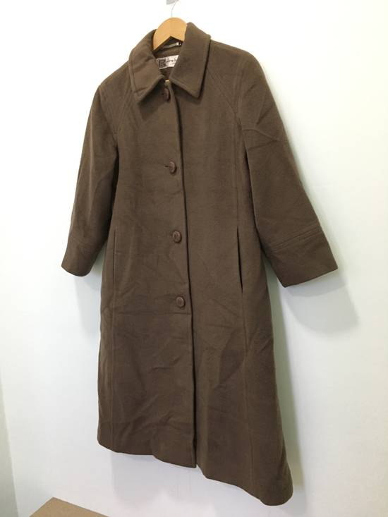 Balmain Vintage Pierre Balmain Paris Wool Long Coat Jacket Camel Brown Size US S / EU 44-46 / 1 - 4