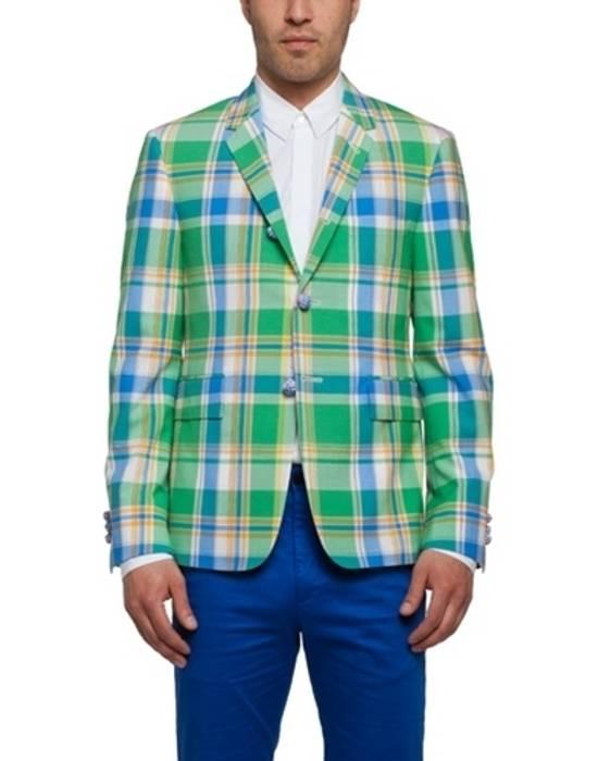Thom Browne 13ss madras runway blazer Size 50S - 7