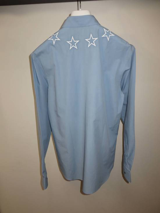 Givenchy Embroidered stars shirt Size US XL / EU 56 / 4 - 1