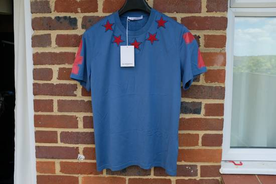 Givenchy Blue and Red 5 stars T-shirt Size US L / EU 52-54 / 3