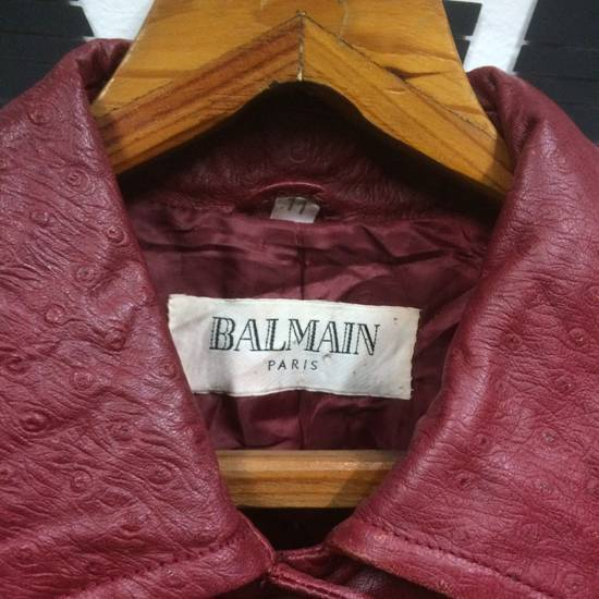 Balmain Balmain Leather Jacket Size US L / EU 52-54 / 3 - 3