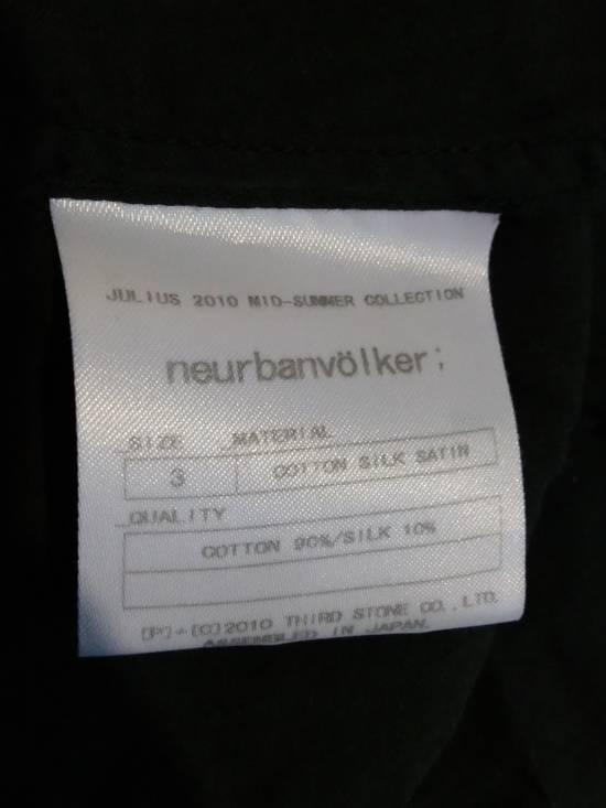 Julius Black Button Down Shirt Cotton/Silk ss10 Size US L / EU 52-54 / 3 - 5