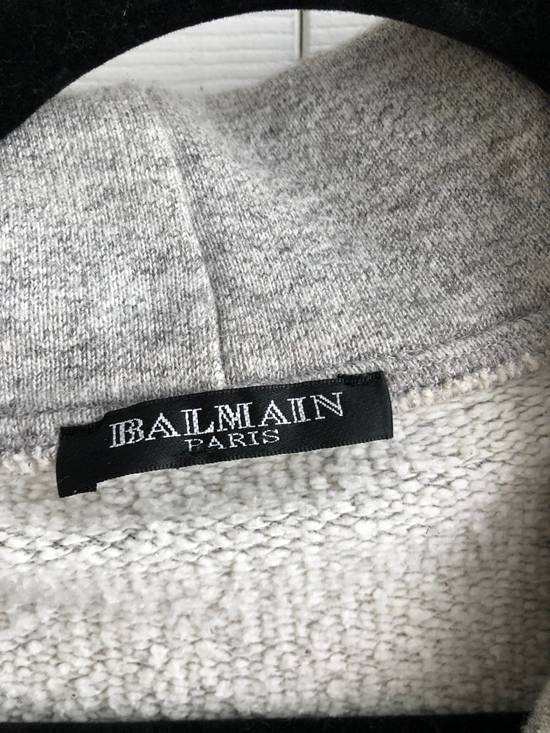 Balmain Zipped hoodie in grey Size US M / EU 48-50 / 2 - 2