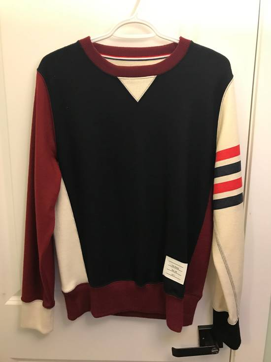 Thom Browne RARE WOOL Tri Color Sweater Size US M / EU 48-50 / 2