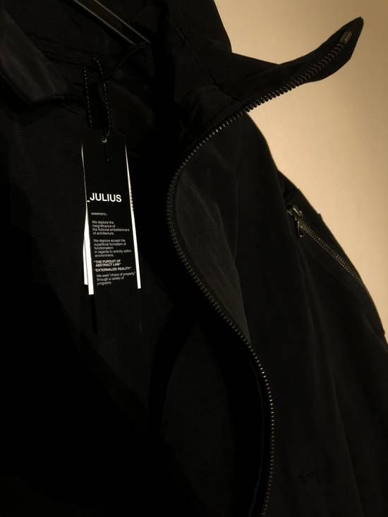 Julius Black Asymmetric Bomber Jacket Size US M / EU 48-50 / 2 - 2