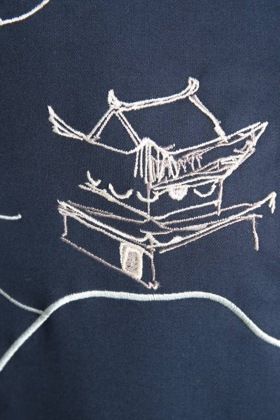 Thom Browne Japanese Garden Navy Coat Size US S / EU 44-46 / 1 - 10