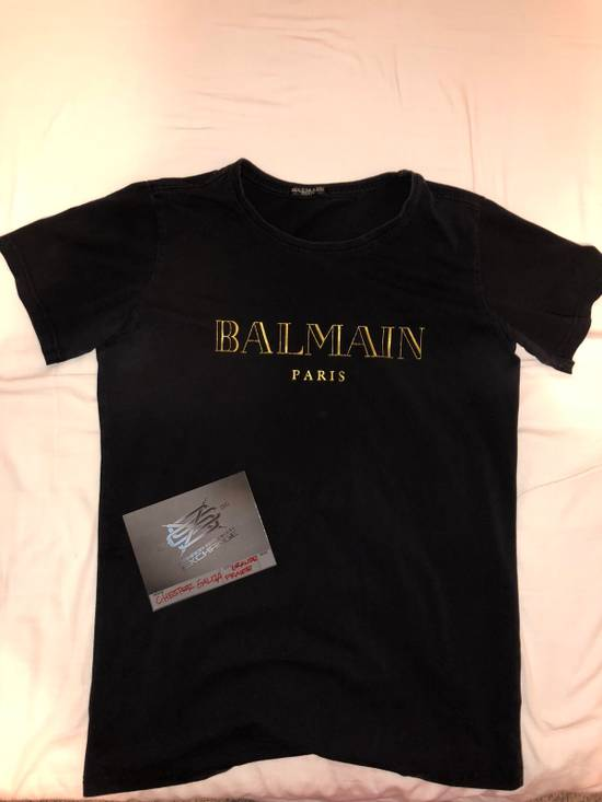 Balmain Balmain Black Tee Size US M / EU 48-50 / 2