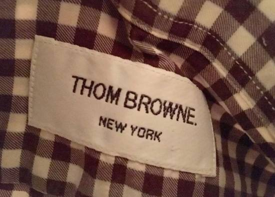 Thom Browne Thom Browne shirts brown size 1 checker used hype deal dress casual Size US S / EU 44-46 / 1 - 2