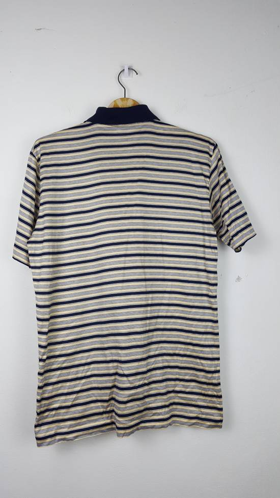 Givenchy Vintage GIVENCHY GENTLEMAN PARIS Stripes Polo Shirt Size US S / EU 44-46 / 1 - 5