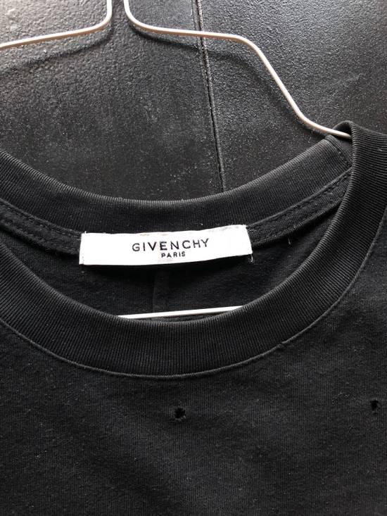 Givenchy Logo Burnout Cotton T-Shirt Size US M / EU 48-50 / 2 - 4
