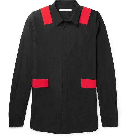 Givenchy Red bands shirt Size US XL / EU 56 / 4 - 2