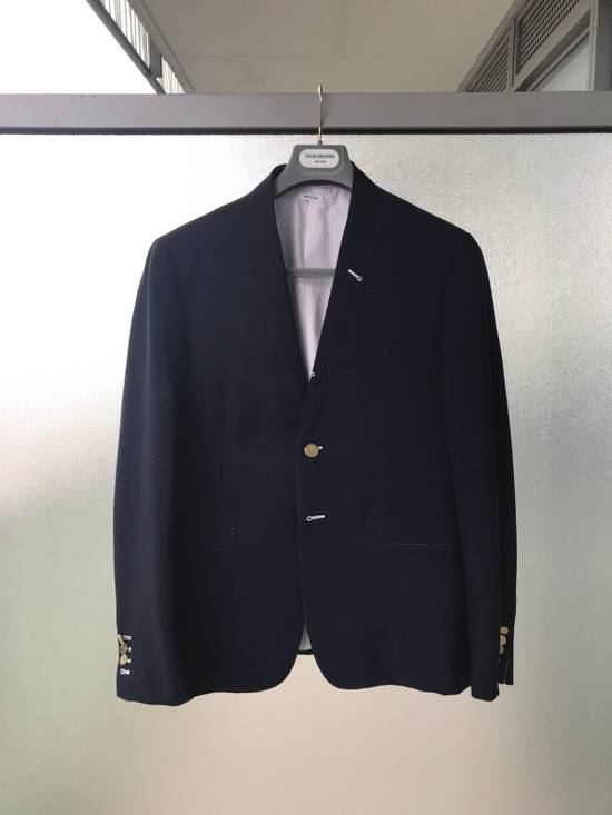 Thom Browne Mohair blend Navy Blazer - Final Price Drop Size 38R