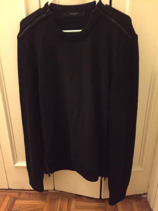 Givenchy Givenchy Black Zipper Sweater Size US L / EU 52-54 / 3