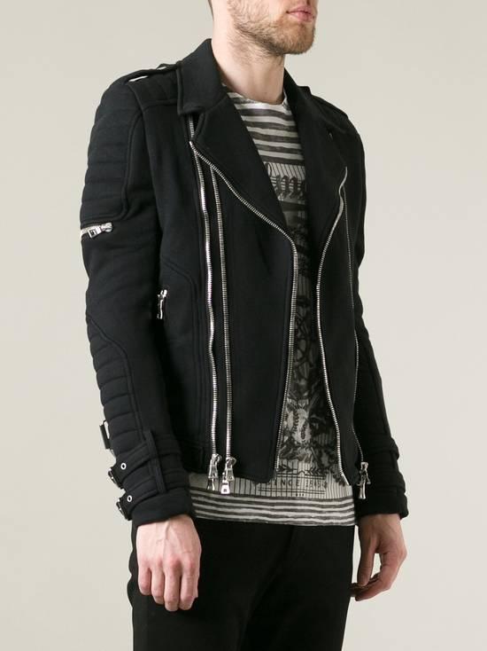 Balmain Balmain Cotton Biker Jacket Size US XS / EU 42 / 0