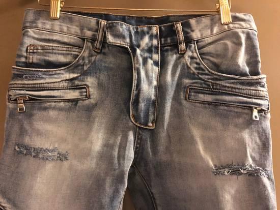 Balmain Distressed Jeans Size US 32 / EU 48 - 2