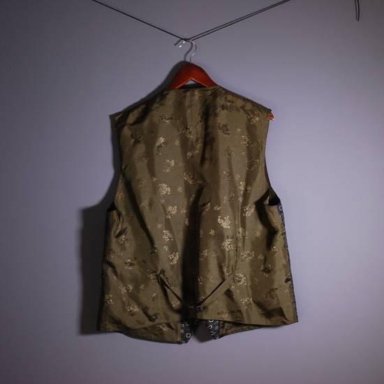 Julius Julius Lang Vest Sleeveless Jacket Polyester Floral Pattern Blue Green 28 XL Size US XL / EU 56 / 4 - 4