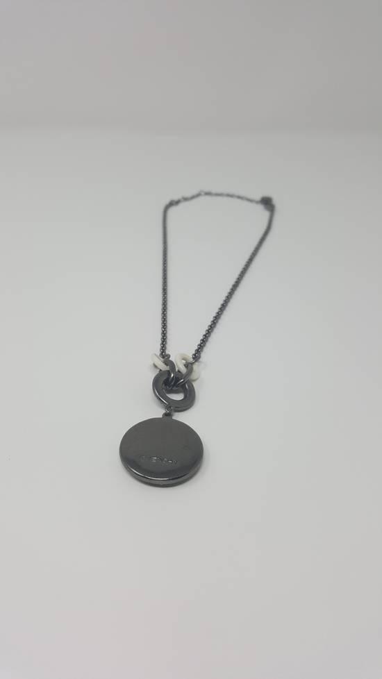 Givenchy Logo necklace doble sided Size ONE SIZE