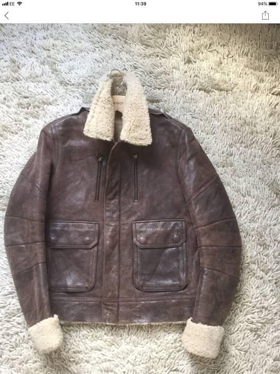 Balmain Balmain Shearling Lined Aviator Jacket Size US M / EU 48-50 / 2 - 1