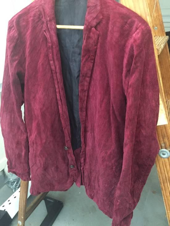 Julius Last Drop: AW03 Blood Red Velvet Blazer Size US M / EU 48-50 / 2 - 3
