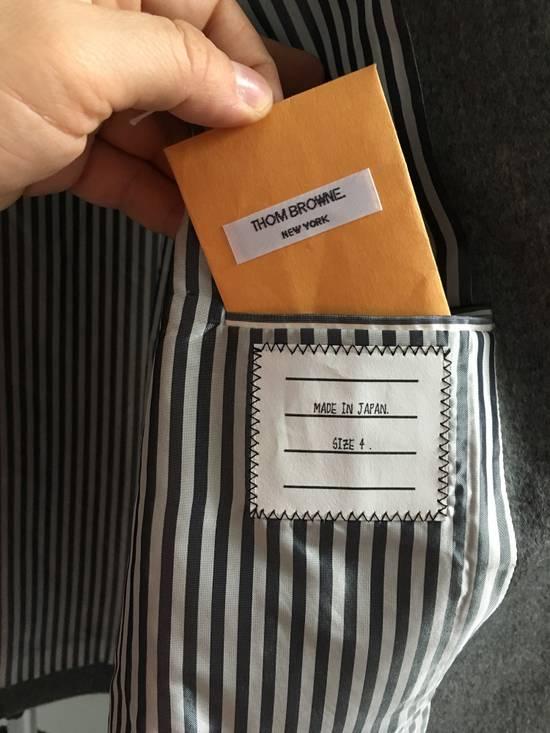 Thom Browne 100% Cashmere Patch Pocket Coat Size US XL / EU 56 / 4 - 3