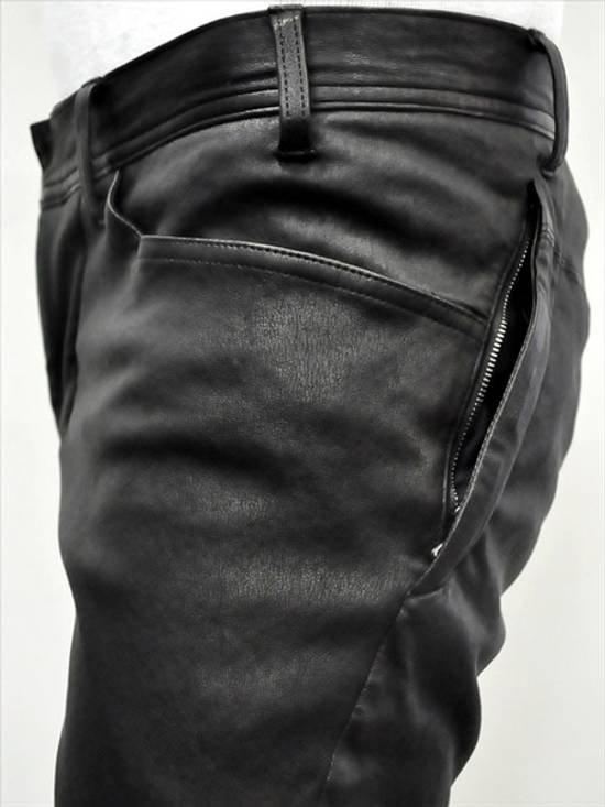 Julius Deerskin Leather Biker Pants Size US 30 / EU 46 - 11