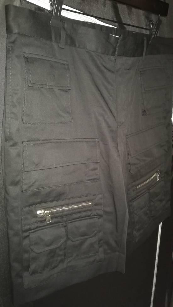 Givenchy Cargo Bermuda Shorts Black Size US 36 / EU 52 - 1