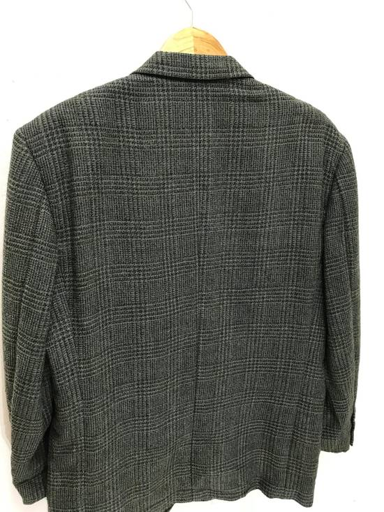 Givenchy Monsieur Givenchy Wool Blazer Tartan Plaid Vintage Size 44R - 11