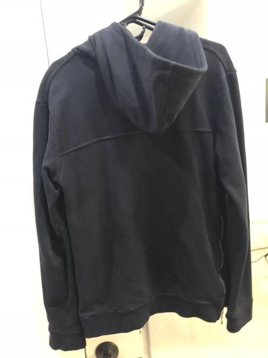 Balmain Black Zip Hoodie Size US M / EU 48-50 / 2 - 3