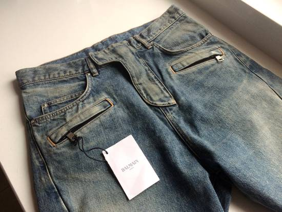 Balmain Balmain Cropped Jeans Size US 29 - 3