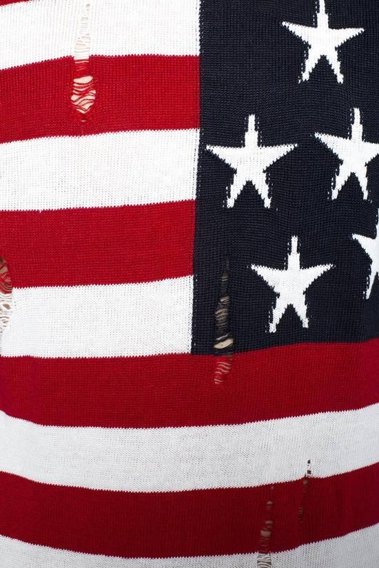 Balmain Brand New Balmain American Flag Raw Trimmed Sweater Size US M / EU 48-50 / 2 - 3