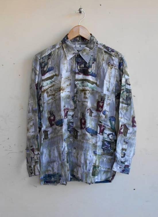 Balmain Vintage Balmain Silk Shirt Baroque not gucci balenciaga givenchy saint laurent balmain versace chanel hermes louis vuitton prada Size US M / EU 48-50 / 2