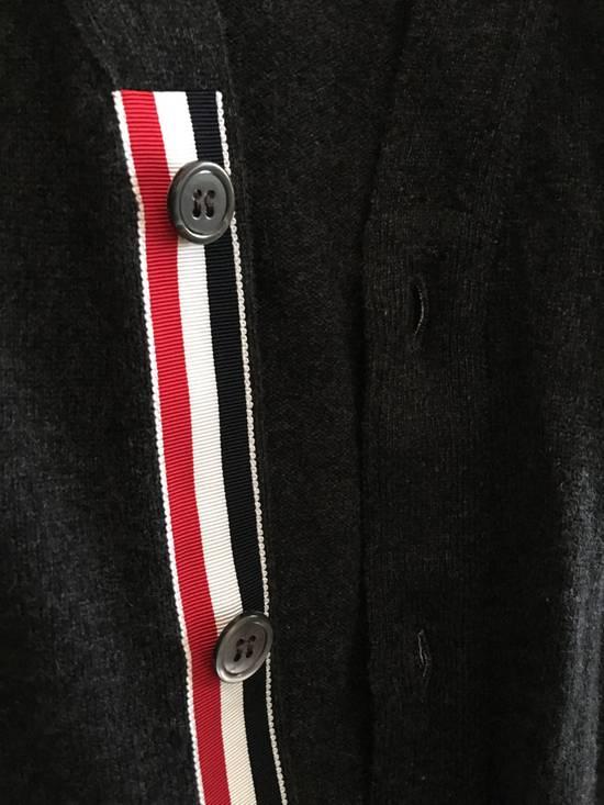 Thom Browne Dark Grey Cashmere Cardigan Size US M / EU 48-50 / 2 - 2