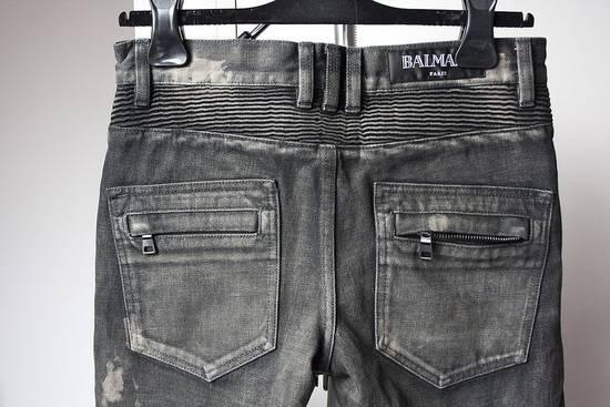 Balmain AW14 biker denim jeans Size US 30 / EU 46 - 3
