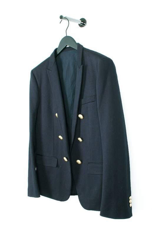Balmain Original Balmain Dark Blue Men Blazer Jacket in size 54 Size 44R - 1
