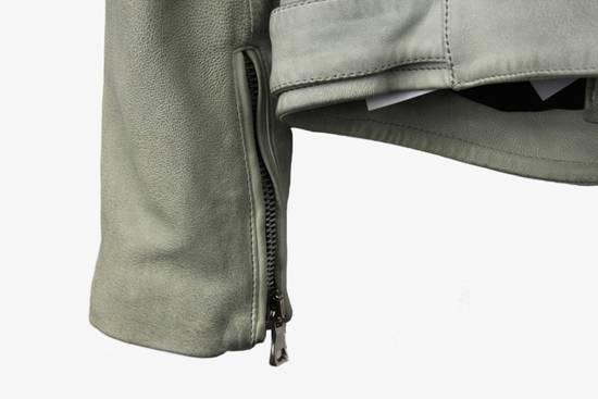 Balmain $4k Balmain White Leather Perfecto Biker Jacket 48 46 Size US M / EU 48-50 / 2 - 5