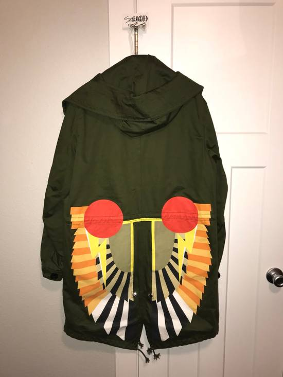 Givenchy Green Wings Print Parka QUICK SALE Size US L / EU 52-54 / 3